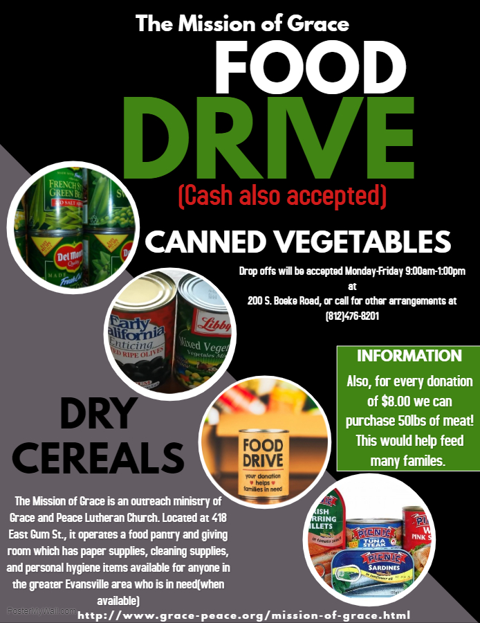 Copy of Can food - Made with PosterMyWall